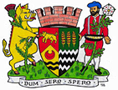 The coat of arms of the Royal Burgh of Auchtermuchty